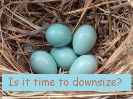 it it time to downsize