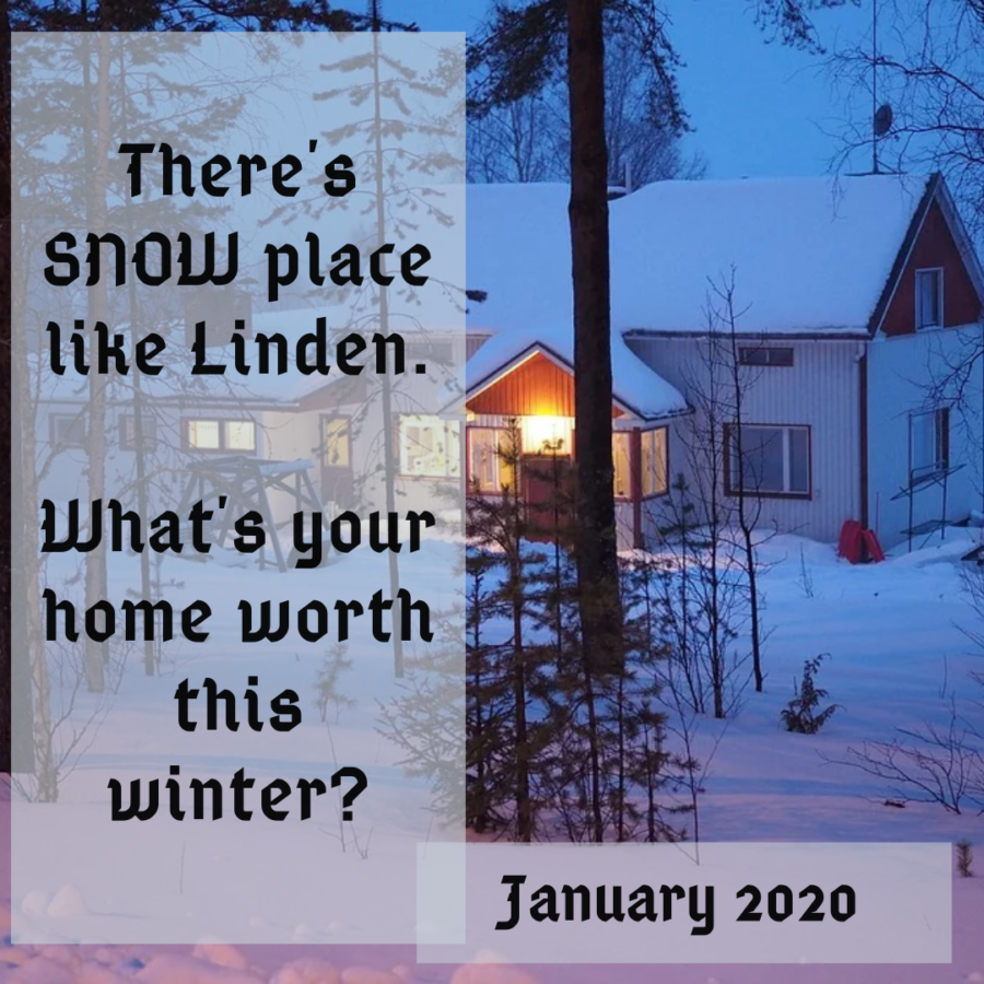 buying and selling a home in Linden in January 2020