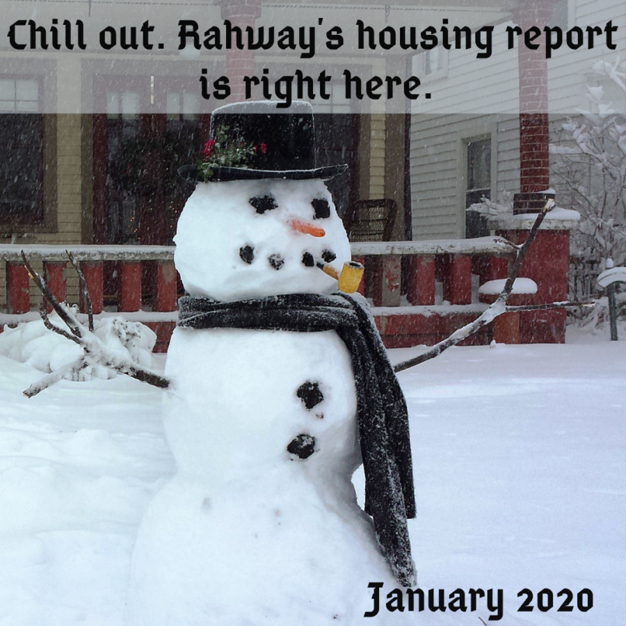 buying and selling a home in rahway in january 2020